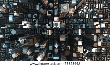 City concept - stock photo