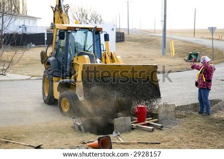 Removal Waste Incinerator Truck Dumps Waste Stock Photo