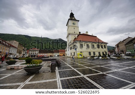 City Hall in Brasov, Romania