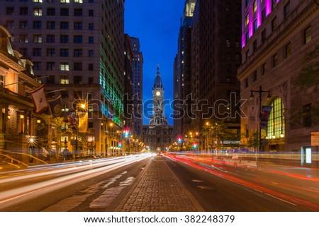 city hall, Philadelphia - stock photo