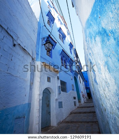 City in Morocco - stock photo