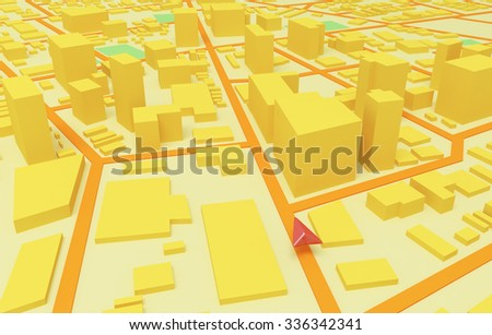 City map.GPS.Navigator