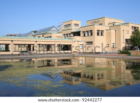 City Museum of The Hague, Holland - stock photo