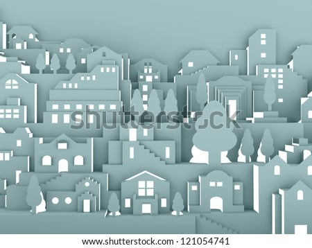 City night concept - stock photo
