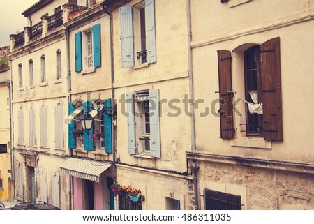 City of Arles in Provence, Southern France
