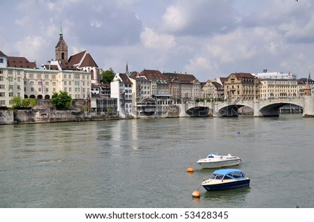 City of Basel,Switzerland - stock photo