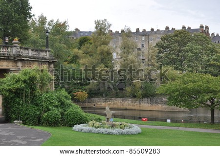 City of Bath in England