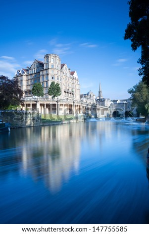 City of Bath, Somerset, England - stock photo