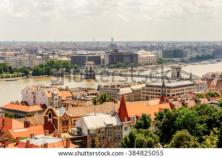 City of Budapest,, Hungary