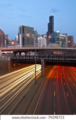 City of Chicago - stock photo