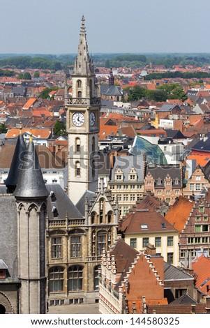 City of Ghent, Belgium - stock photo