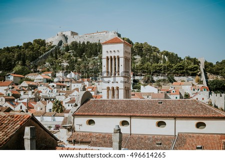 City of Hvar in Croatia