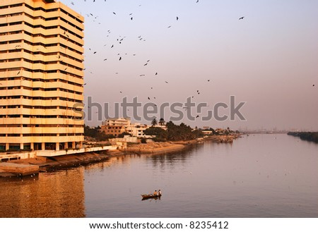 City of Karachi, Pakistan - stock photo