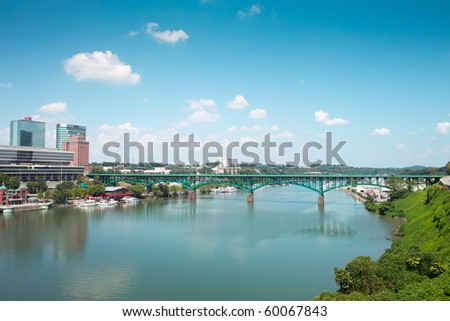 city of Knoxville - stock photo