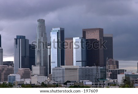 CITY OF L.A. - stock photo