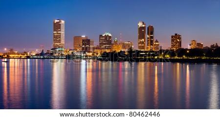City of Milwaukee - stock photo