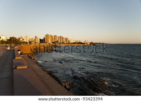 City of Montevideo, Uruguay