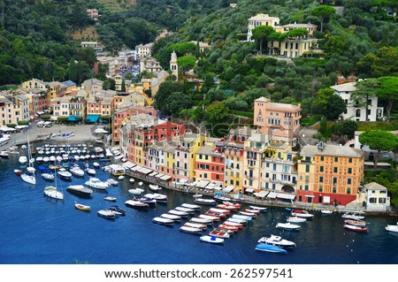 City of Portofino, Liguria, Italy - stock photo