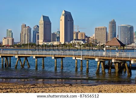 City of San Diego, Southern California, USA - stock photo