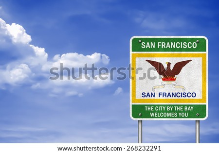City of San Francisco sign