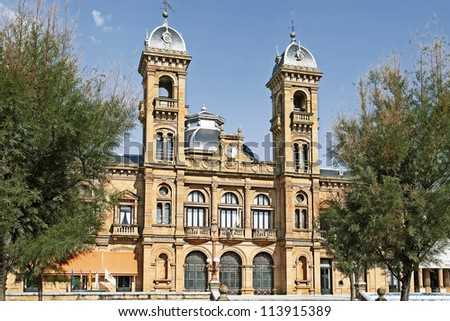 City of San Sebastian, Basque Country, Spain - stock photo
