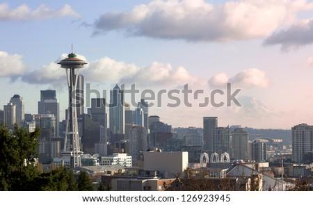City of Seattle - stock photo