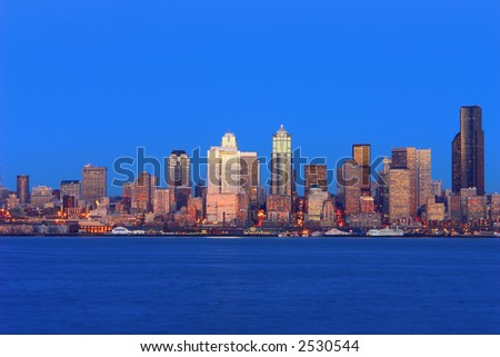 City of Seattle - stock photo