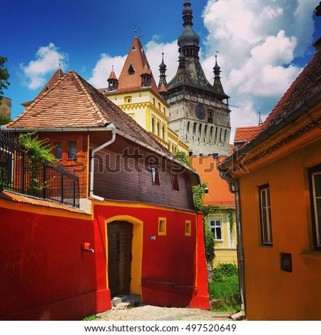 City of Sighisoara, Transylvanian Pearl