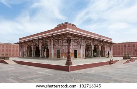 City Palace, Jaipur, India - stock photo