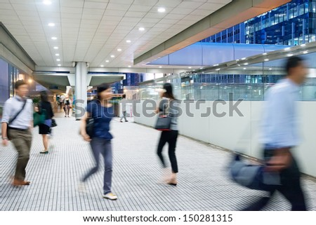 City rhythms--fast, speed. the rush time on the road - stock photo