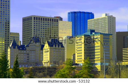 City Scape - stock photo