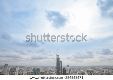 city sky  - stock photo