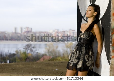 City urban fashion - stock photo