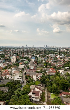 city view in thailand