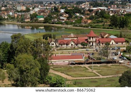 City view of Antsirabe - stock photo