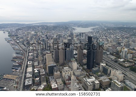 City view of Seattle