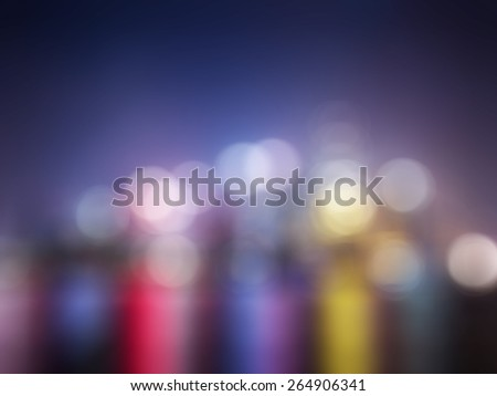 Cityscape at twilight time,abstract blur background for web design,colorful, blurred,texture,  - stock photo