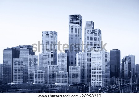 cityscape-Beijing city skyline