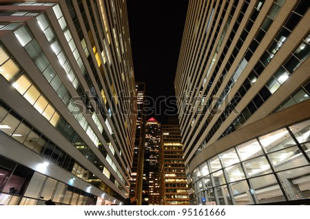 Cityscape in downtown Philadelphia, Pennsylvania. - stock photo
