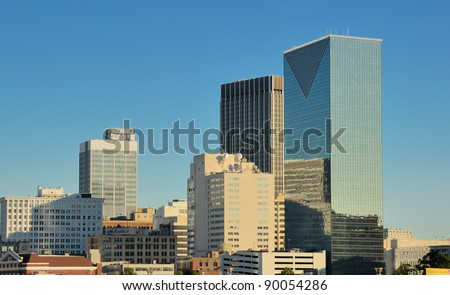Cityscape of Atlanta, Georgia, USA. - stock photo