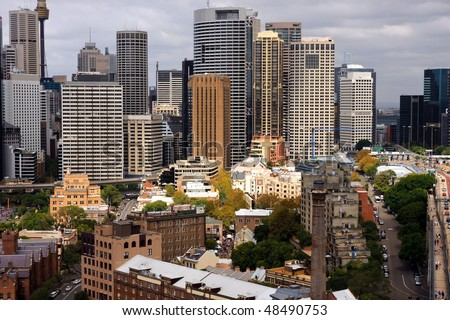 Cityscape of Sydney city, Australia.