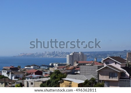 Cityscape of Vina del Mar Chile