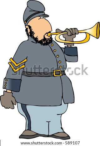 Civil War Bugler
