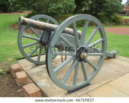 Civil War Cannon located at King Park in Perth