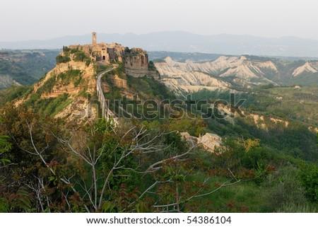 Civita di Bagnoregio - Lazio - stock photo