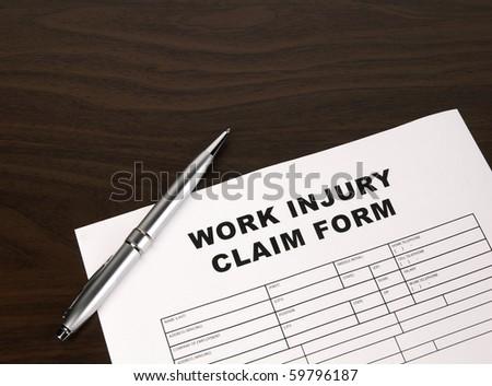 Claim Form - stock photo