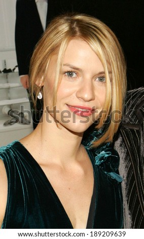 Claire Danes at SHOPGIRL Screening, New Beekman Theater, New York, NY, October 17, 2005