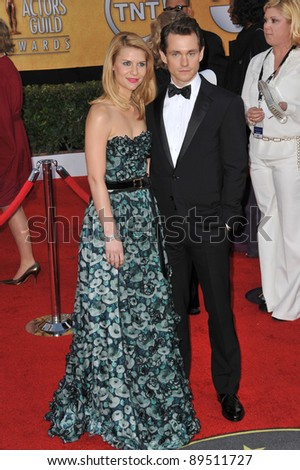 Claire Danes & Hugh Dancy at the 17th Annual Screen Actors Guild Awards at the Shrine Auditorium. January 30, 2011  Los Angeles, CA Picture: Paul Smith / Featureflash