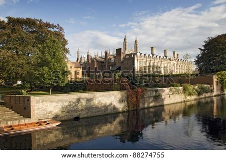 Clare College, Cambridge - stock photo