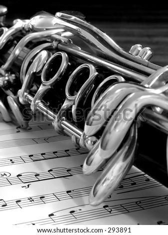 Clarinet - stock photo